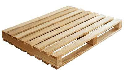 Two way stringer wooden pallet
