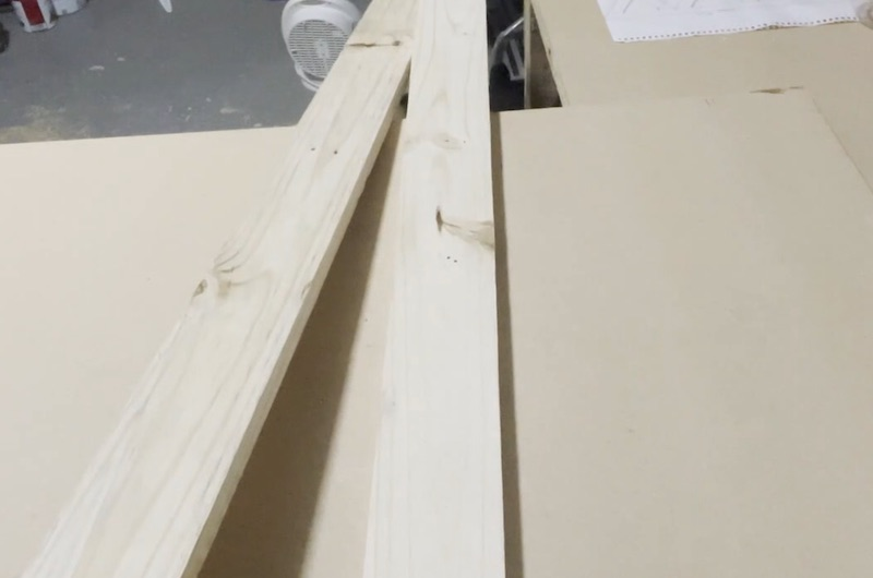 Start with pallet wood