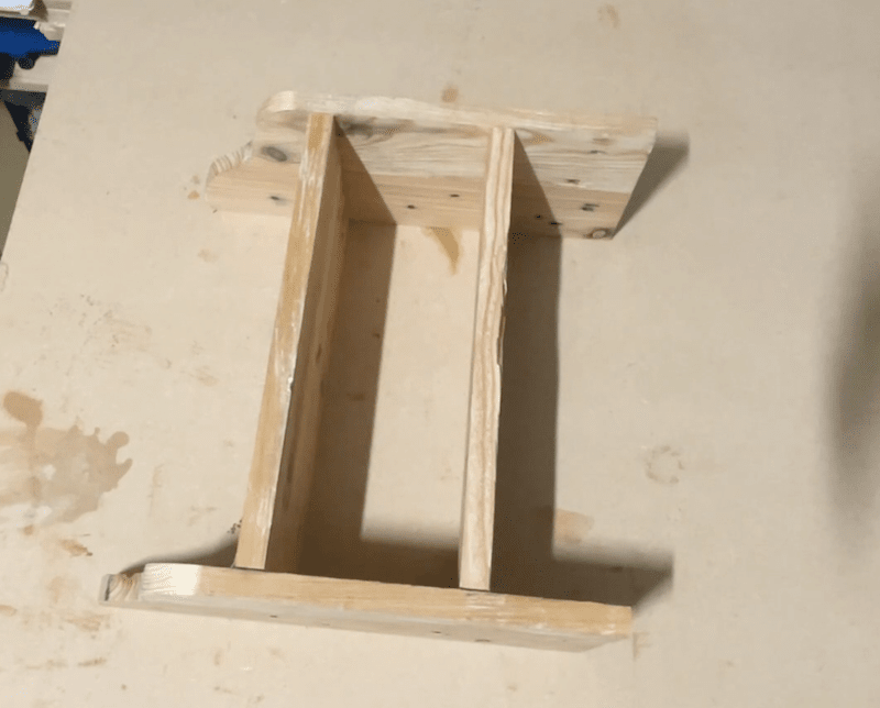 Check alignment before glue-up