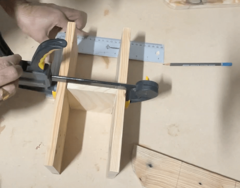 Join shelves with a separator